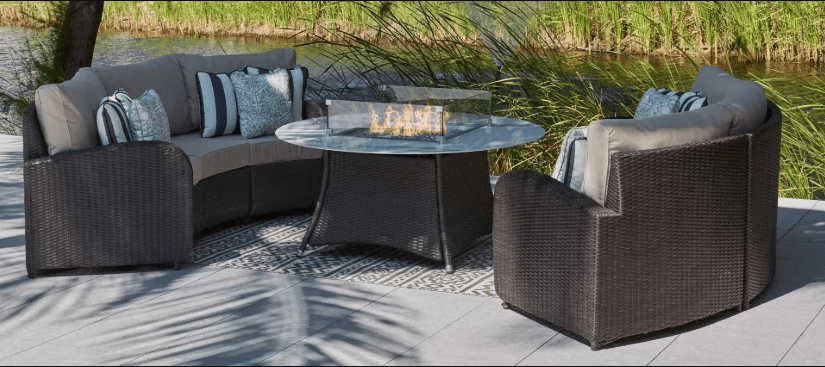 Arc Firepit Garden Furniture